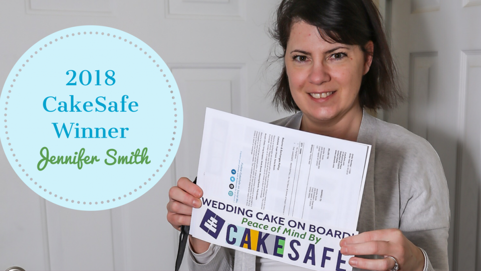 2018 CakeSafe Transportation Box Giveaway Winner is Jennifer Smith