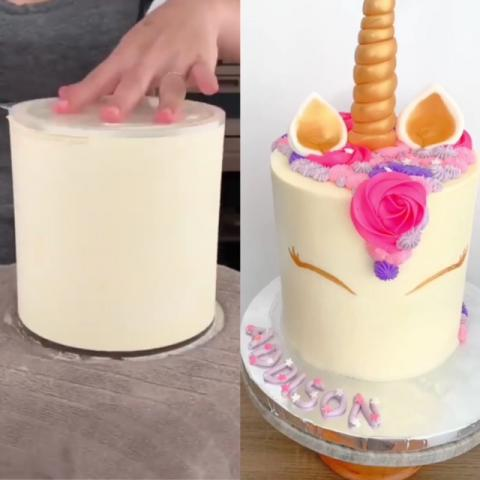 How to create smooth cakes.