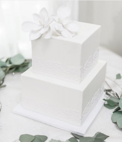 How to ice a square cake?