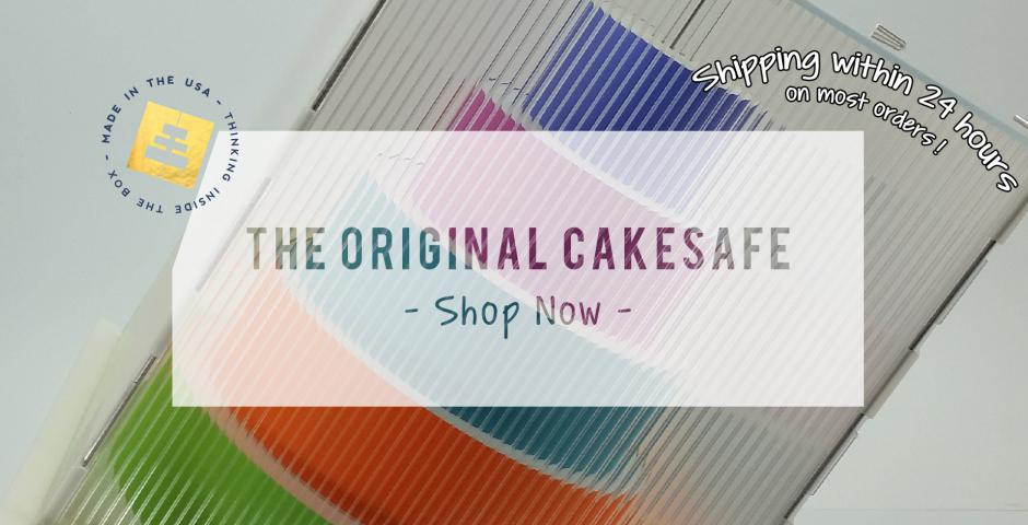 Transport your tiered cakes safely in The CakeSafe
