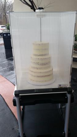 Wedding Cake Cooler