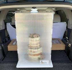 Heavy Traffic Cake Delivery